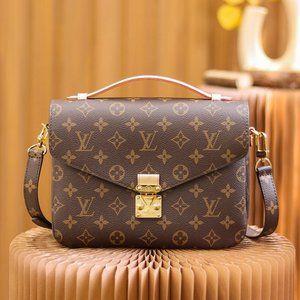 Crossbody Bag Ŀouis Vuittοn Brown Handbag Shoulder Bag